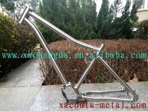 Titanium Full Suspension Bicycle Frame
