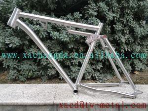 Titanium Suspension Bike Frame