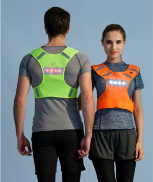 Flashing Led Sports Vest
