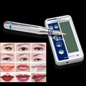 New Digital Semi Permanent Makeup Tattoo Machine Charmant Blue In China