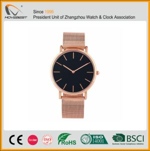 Classic Womens Watch With Stainless Steel Band