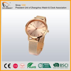 Women's rose gold Watches With milanese Strap