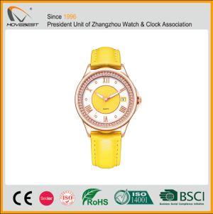 Yellow Wrist Watch Womens