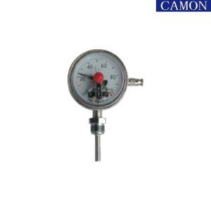 Bimetallic Electric Contact Temperature Thermometer