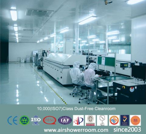 ISO 5 Dust Free Cleanroom With HEPA Fan Unit