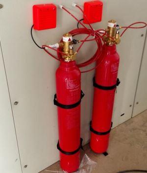 Fire Tube Extinguishing Equipment
