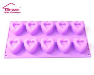 10 Cups HEART BAKING MOLDS