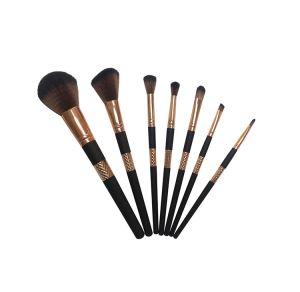 Rubber Paint Plastic Handle Makeup Brush Set