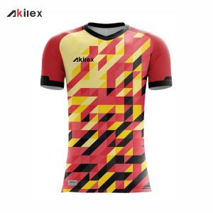 Cut and Sewn Soccer Jersey Design