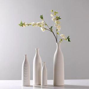 Hand Threaded Fine Ceramic Vase
