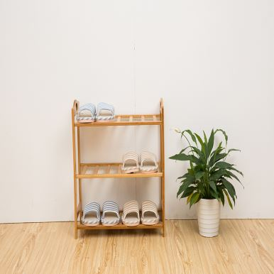 3 Tier Bamboo Shoe Racks