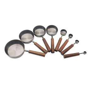 Black Steel Measuring Cups And Spoons