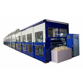 Fully Enclosed Animal Fiber Processing Production Line